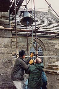 Lifting refurbished bell